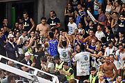 DESCRIZIONE : Campionato 2014/15 Serie A Beko Dinamo Banco di Sardegna Sassari - Grissin Bon Reggio Emilia Finale Playoff Gara4<br /> GIOCATORE : Kenneth Kadji Team Commando Ultra' Dinamo<br /> CATEGORIA : Ultras Tifosi Spettatori Pubblico Postgame Ritratto Esultanza<br /> SQUADRA : Dinamo Banco di Sardegna Sassari<br /> EVENTO : LegaBasket Serie A Beko 2014/2015<br /> GARA : Dinamo Banco di Sardegna Sassari - Grissin Bon Reggio Emilia Finale Playoff Gara4<br /> DATA : 20/06/2015<br /> SPORT : Pallacanestro <br /> AUTORE : Agenzia Ciamillo-Castoria/GiulioCiamillo