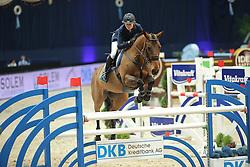 Chechina Olga, (RUS), Adelheid<br /> Champion von München<br />  Jumping München 2015<br /> © Hippo Foto - Stefan Lafrentz