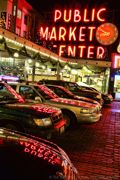 Pike Place Market, Downtown Seattle