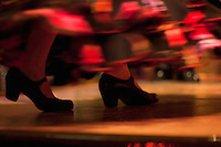 flamenco dancing abstracts, spain