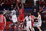 McLean Jamel<br /> Milano - Trento<br /> Lega Basket Serie A 2016/2017<br /> Milano 02/04/2017<br /> Foto Ciamillo-Castoria / GiulioCiamillo