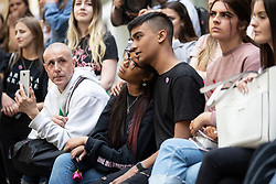 © Licensed to London News Pictures . 22/05/2019. Manchester, UK . People in St Ann's Square in Manchester City Centre on the second anniversary of the Manchester Arena bombing following a private service in St Ann's Church . On the evening of 22nd May 2017 , Salman Abedi murdered 22 people and seriously injured dozens more , when he exploded a bomb in the foyer of the Manchester Arena as concert-goers were leaving an Ariana Grande gig . Photo credit: Joel Goodman/LNP