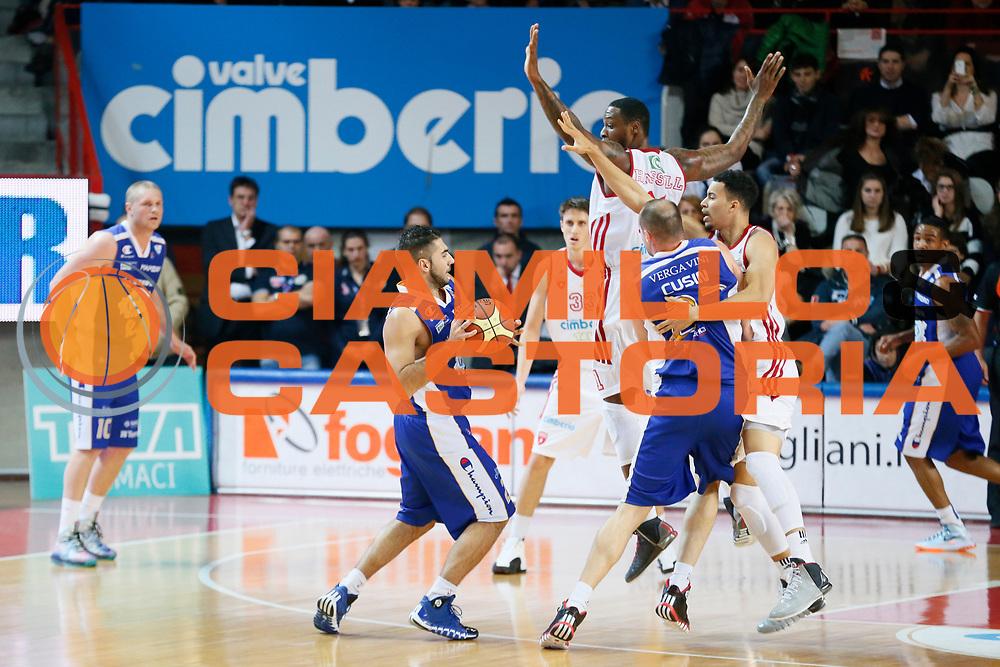 DESCRIZIONE : Varese Lega A 2013-14 Cimberio Varese Acqua Vitasnella Cantu<br /> GIOCATORE : Pietro Aradori<br /> CATEGORIA : Palleggio<br /> SQUADRA : Acqua Vitasnella Cantu<br /> EVENTO : Campionato Lega A 2013-2014<br /> GARA : Cimberio Varese Acqua Vitasnella Cantu<br /> DATA : 15/12/2013<br /> SPORT : Pallacanestro <br /> AUTORE : Agenzia Ciamillo-Castoria/G.Cottini<br /> Galleria : Lega Basket A 2013-2014  <br /> Fotonotizia : Varese Lega A 2013-14 Cimberio Varese Acqua Vitasnella Cantu<br /> Predefinita :