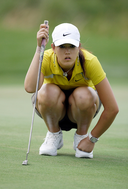 Mt. PLEASANT, SC, May 31, 2007:  Michelle Wie plays during the first round of the Ginn Tribute Hosted by Annika Sorrenstam in Mt. Pleasant, South Carolina on May 31, 2007. (Photo by Todd Bigelow/Aurora)