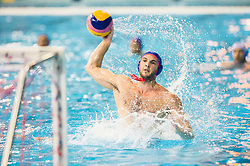 Ioannis Fountoulis of Olympiacos during water polo match between Primorje Erste Bank (CRO) and Olympiacos Piraeus (GRE) in 8th Round of Champions League 2016, on April 16, 2016 in Kantrida pool, Rijeka, Croatia. Photo by Vid Ponikvar / Sportida