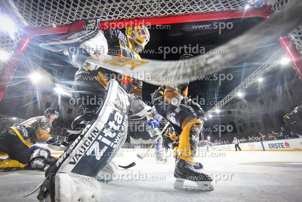 16.09.2012, Amphitheater, Pula, CRO, EBEL, Ice Fever, KHL Medvescak Zagreb vs UPC Vienna Capitals, 04. Runde, im Bild // during the Erste Bank Icehockey League 04th Round match betweeen KHL Medvescak Zagreb and UPC Vienna Capitals at the Amphitheater, Pula, Croatia on 2012/09/16. EXPA Pictures © 2012, PhotoCredit: EXPA/ Pixsell/ Zeljko Lukunic ****** ATTENTION - OUT OF CRO, SRB, MAZ, BIH and POL *****