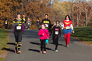 Montgomery, New York - CASA of Orange County held its first annual Superhero 5K Run to take place at  Thomas Bull Memorial Park on Halloween morning, October 31, 2015.