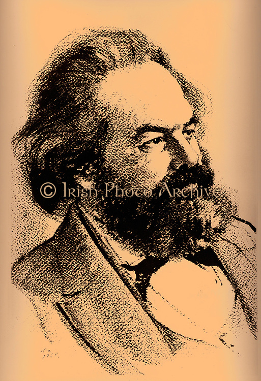 Karl Heinrich Marx (5 May 1818 – 14 March 1883) was a German philosopher, sociologist, economic historian, journalist, and revolutionary socialist. 1852