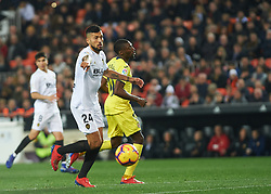 January 26, 2019 - Valencia, Valencia, Spain - Ezequiel Garay of Valencia CF during the La Liga Santander match between Valencia and Villarreal at Mestalla Stadium on Jenuary 26, 2019 in Valencia, Spain. (Credit Image: © AFP7 via ZUMA Wire)