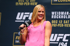 December 11, 2015: Holly Holm Fan Club Q&A