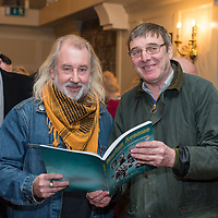 Franky O'Gorman and Tom Bugler both  originally from Marian Avenue at the launch of the book written by Ollie Byrnes