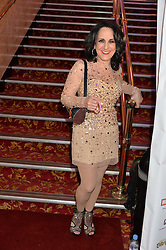 LESLEY JOSEPH at the West End Eurovision in aid of MAD - The Make A Difference Trust held at the Dominion Theatre, 268-269 Tottenham Court Road, London on 22nd May 2014