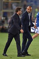 Eusebio Di Francesco Roma, Luciano Spalletti Inter <br /> Roma 26-08-2017 Stadio Olimpico Calcio Serie A AS Roma - Inter Foto Andrea Staccioli / Insidefoto