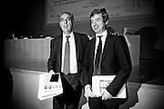 Rome jun 15th 2016, debate on justice and magistrature. In the picture Giovanni Legnini, president of Magistrature Superior Council, and Andrea Orlando, Minister of Justice  - © PIERPAOLO SCAVUZZO