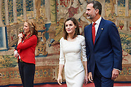 092816 Spanish Royals Receive Rio 2016 Olympic and Paralympic Medalists