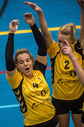 09-04-2016 NED: SV Dynamo - Flamingo's 56, Apeldoorn<br /> Flamingo's doet een goede stap naar het kampioenschap in de Topdivisie. Dynamo wordt met 3-0 verslagen / Lisette van de Kemp #2