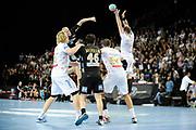 DESCRIZIONE : France Hand D1 Championnat de France D1 a Montpellier<br /> GIOCATORE : Christoffer RAMBO<br /> SQUADRA : Dunkerque<br /> EVENTO :  Hand D1<br /> GARA : Montpellier Dunkerque<br /> DATA : 25/10/2012<br /> CATEGORIA : Hand D1 <br /> SPORT : Handball<br /> AUTORE : JF Molliere <br /> Galleria : France Hand 2012-2013 Action