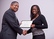 19004Legacy 2008 Recognition & Awards Ceremony in Baker Center 7/31/08: Templeton Scholars, Urban Scholars, and Appalachian Scholars..Templeton Scholars:..Dr. McDavis & Christine Nwajeji