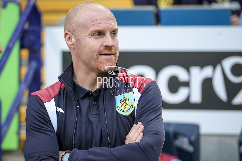 Sean Dyche (Manager) (Burnley) before the Pre-Season Friendly match between Bolton Wanderers and Burnley at the Macron Stadium, Bolton, England on 26 July 2016. Photo by Mark P Doherty.