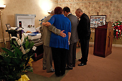 Funeral service for Wayne Mullins, Thursday, Aug. 02, 2012 at the Ratterman Funeral Home in Louisville.