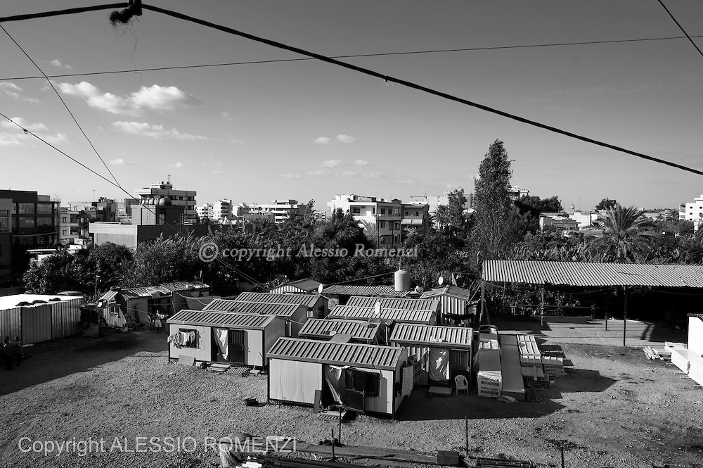 LEBANON: Saida<br /> General view of Albunian camp in Saida. ALESSIO ROMENZI