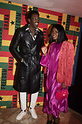 ADRIAN SAUVAGE, GYANKROMA AKUFO-ADDO, Ghana party, Venice, 8 May 2019