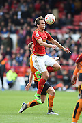 Nottingham Forest midfielder Robert Tesche (32) during the Sky Bet Championship match between Nottingham Forest and Wolverhampton Wanderers at the City Ground, Nottingham, England on 30 April 2016. Photo by Jon Hobley.