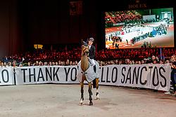 BRASH Scott (GBR), Hello Sanctos<br /> Genf - CHI Geneve Rolex Grand Slam 2019<br /> Verabschiedung von Hello Sanctos aus dem Sport<br /> 14. Dezember 2019<br /> © www.sportfotos-lafrentz.de/Stefan Lafrentz