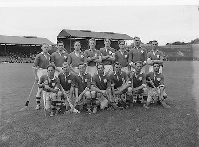 Limerick Team. All Ireland Junior Hurling Semi Final. Dublin v Limerick..Winners - Dublin..24.08.1952  24th August 1952