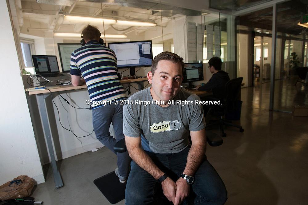 Doug Hirsch co-CEO, GoodRx Inc. (Photo by Ringo Chiu)
