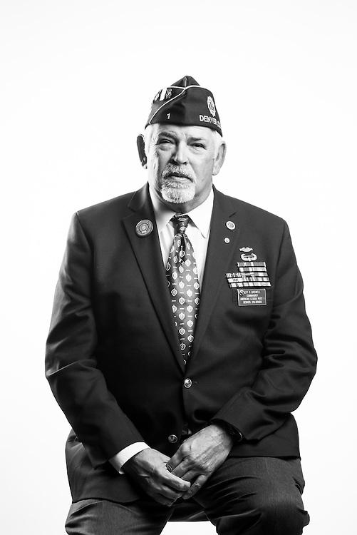 Jeff R. Birdwell<br /> Army<br /> E-8<br /> Infantry<br /> Dec. 15, 1970 - Apr. 1, 1991<br /> Vietnam, Gulf War, Desert Storm<br /> <br /> Veterans Portrait Project<br /> Denver, CO