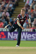 Josh Cobb during the NatWest T20 Blast final match between Northants Steelbacks and Lancashire Lightning at Edgbaston, Birmingham, United Kingdom on 29 August 2015. Photo by David Vokes.