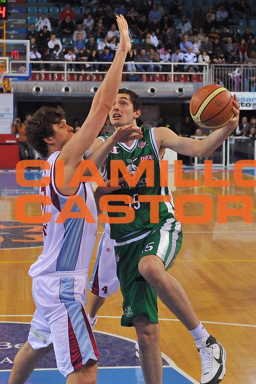 DESCRIZIONE : Rieti Lega A 2008-09 Solsonica Rieti Montepaschi Siena<br /> GIOCATORE : Nika Metreveli<br /> SQUADRA : Montepaschi Siena<br /> EVENTO : Campionato Lega A 2008-2009<br /> GARA : Solsonica Rieti Montepaschi Siena<br /> DATA : 05/04/2009<br /> CATEGORIA : Tiro<br /> SPORT : Pallacanestro<br /> AUTORE : Agenzia Ciamillo-Castoria/E.Grillotti