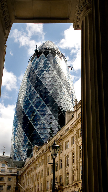 30 St Mary Axe (widely known informally as The Gherkin