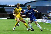 Jack Clarke (47) of Leeds United during the Pre-Season Friendly match between Oxford United and Leeds United at the Kassam Stadium, Oxford, England on 24 July 2018. Picture by Graham Hunt.