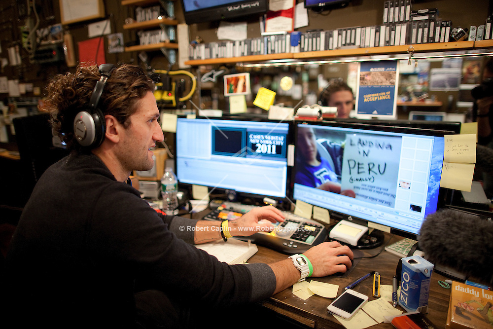 Filmmaker Casey Neistat New York City Studio.<br />