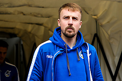 Chris Lines of Bristol Rovers arrives at Coventry City - Mandatory by-line: Robbie Stephenson/JMP - 07/04/2019 - FOOTBALL - Ricoh Arena - Coventry, England - Coventry City v Bristol Rovers - Sky Bet League One