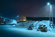 There are more snowmobiles in Svalbard than people. Snowmobiles cost less there than on the mainland due to lower taxes. The price of petrol is low and most people have a good income. Many put priority on buying a snowmobile when they come to Svalbard to live for some years.