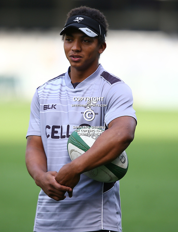 DURBAN, SOUTH AFRICA, 6 September, 2016 - Garth April during The Cell C Sharks training session at Growthpoint Kings Park in Durban, South Africa. (Photo by Steve Haag)<br /> <br /> images for social media must have consent from Steve Haag