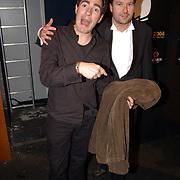 Playboy Night 2004, Johan Nieuwenhuis en