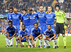 28.09.2010, Stamford Bridge, London, ENG, UEFA Champions League, Chelsea vs Olympique Marseille, im Bild Chelsea squad to face /mersaille. EXPA Pictures © 2010, PhotoCredit: EXPA/ IPS/ Mark Greenwood +++++ ATTENTION - OUT OF ENGLAND/UK +++++
