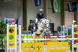 Van Hecke Delphine, BEL, Prins<br /> Nationaal Indoor Kampioenschap Pony's LRV <br /> Oud Heverlee 2019<br /> © Hippo Foto - Dirk Caremans<br /> 09/03/2019