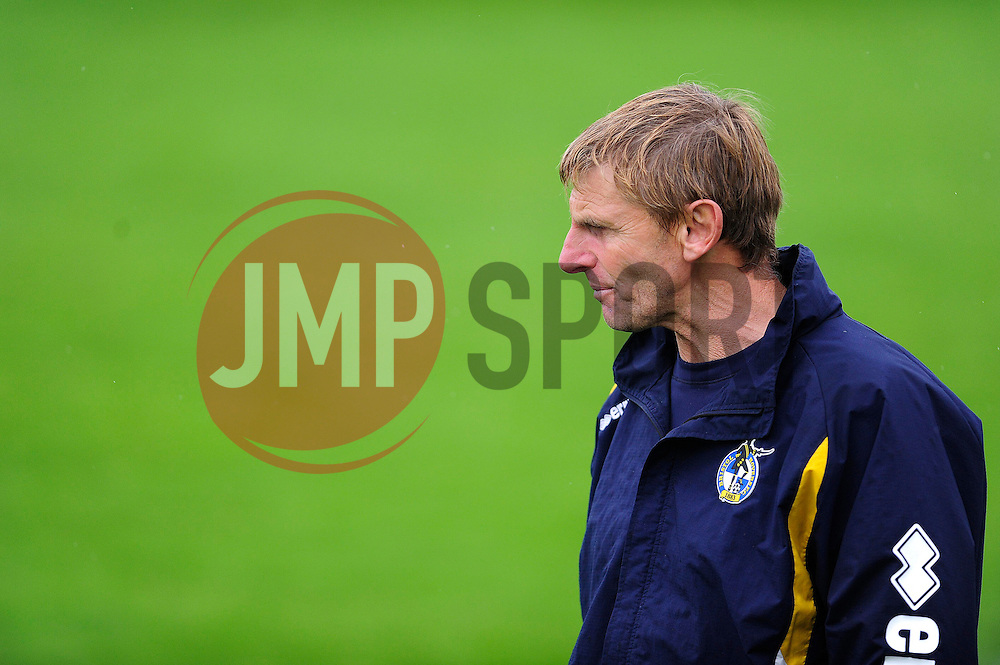 Bristol Rovers U18's head of coaching, Alan Walsh - Photo mandatory by-line: Dougie Allward/JMP - Tel: Mobile: 07966 386802 28/09/2013 - SPORT - FOOTBALL - Ashton Gate - Bristol - Bristol Rovers U18s V Newport AFC - Youth Cup