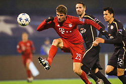 Thomas Muller #25 of FC Bayern Munchen during football match between GNK Dinamo Zagreb and Bayern München in Group F of Group Stage of UEFA Champions League 2015/16, on December 9, 2015 in Stadium Maksimir, Zagreb, Croatia. Photo by Ziga Zupan / Sportida