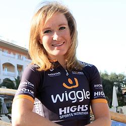 MALLORCA (SPA) wielrennen,   <br /> Amy Pieters (Zwanenburg) maakte deze winter een droomtransfer naar het Engelse Wiggle-High5 team. Komende weekend begint ze haar seizoen in het Belgische openingsweekend