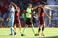 Javier Pastore Roma esce dal campo per infortunio<br />Roma 28-09-2018 Stadio Olimpico Football Calcio Serie A 2018/2019 AS Roma - Lazio Foto Luca Pagliaricci / Insidefoto