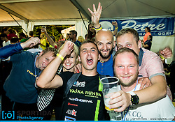 Party with music group Joske V'n after 10th Nocna 10ka 2016, traditional run around Bled's lake, on July 09, 2016 in Bled,  Slovenia. Photo by Vid Ponikvar / Sportida