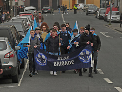 Rice College fans Hogan Cup Final<br /> Pic Conor McKeown