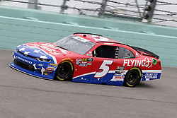 November 16, 2018 - Homestead, FL, U.S. - HOMESTEAD, FL - NOVEMBER 16: Michael Annett, driver of the #5 Pilot Flying J Chevy, during practice for the NASCAR Xfinity Series playoff race, the Ford EcoBoost 300 on November, 16, 2018, at Homestead - Miami Speedway in Homestead, FL. (Photo by Malcolm Hope/Icon Sportswire) (Credit Image: © Malcolm Hope/Icon SMI via ZUMA Press)