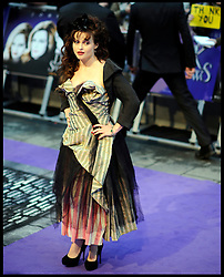 Helena Bonham Carter attends the UK premiere of 'Dark Shadows' at Empire Leicester Square, May 9, 2012, Wednesday May 9, 2012. Photo By Andrew Parsons/ i-Images